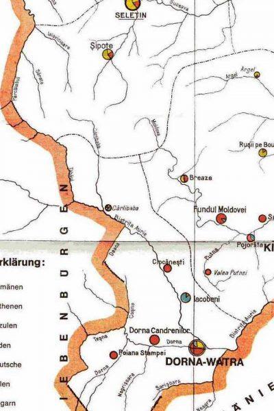 מפת דרום מערב בוקובניה 1910