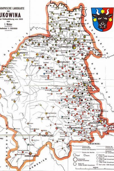 מפת בוקובינה 1910