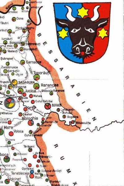 מפת צפון מזרח בוקובניה 1910